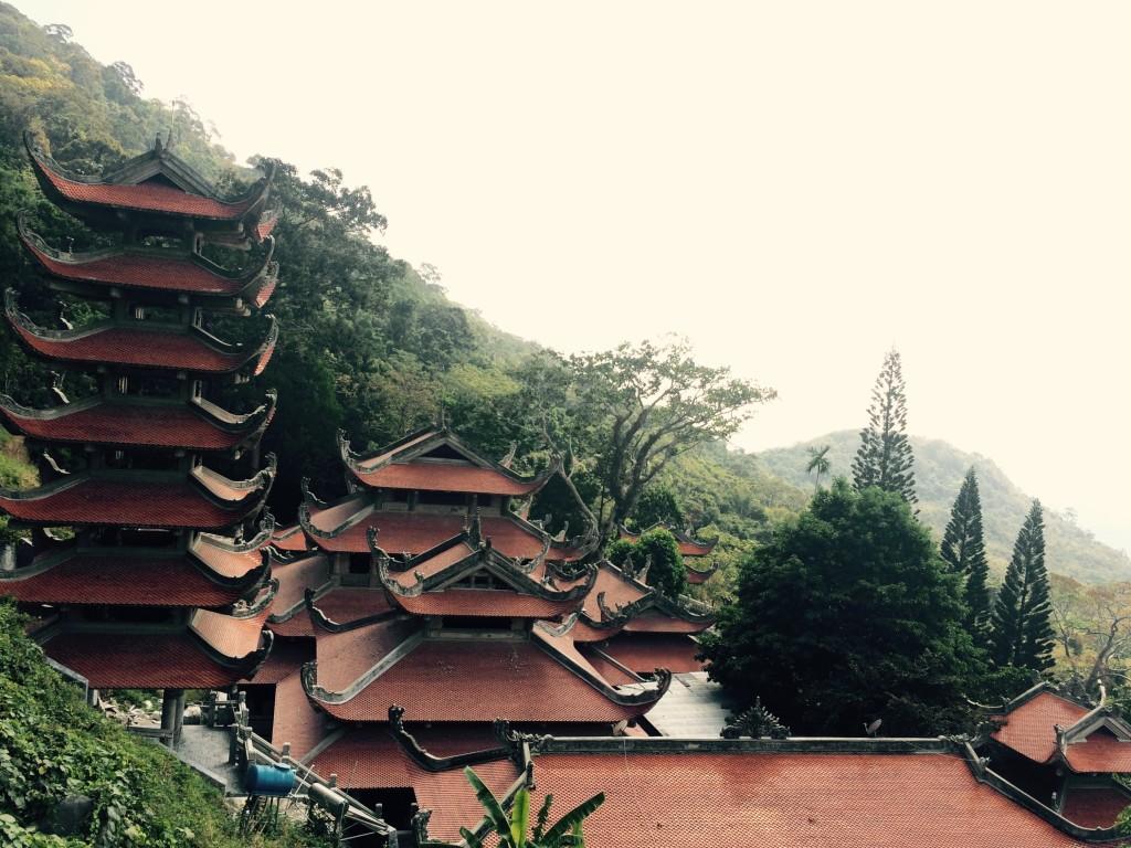 Очередной буддистский храм