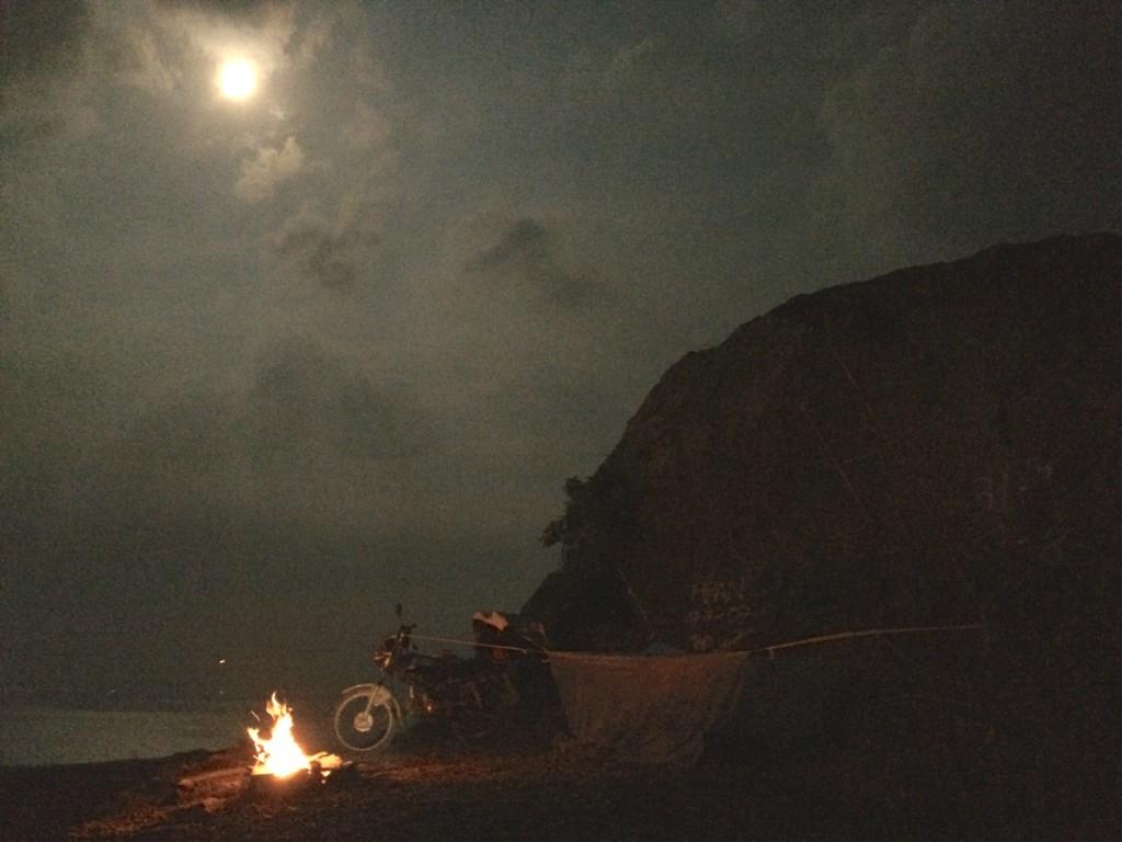 Ночевка в Вунг Тау, откуда нас прогнал ночной ливень