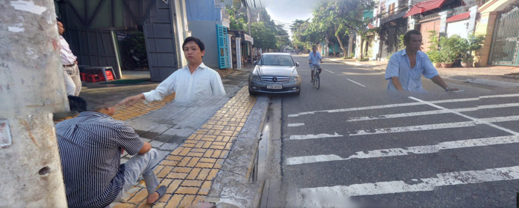 Google street view in Vung Tau