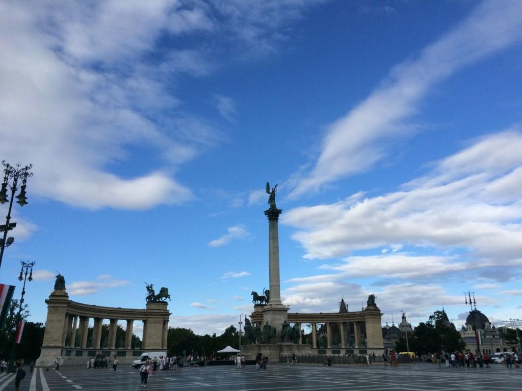 Площадь героев / Будапешт