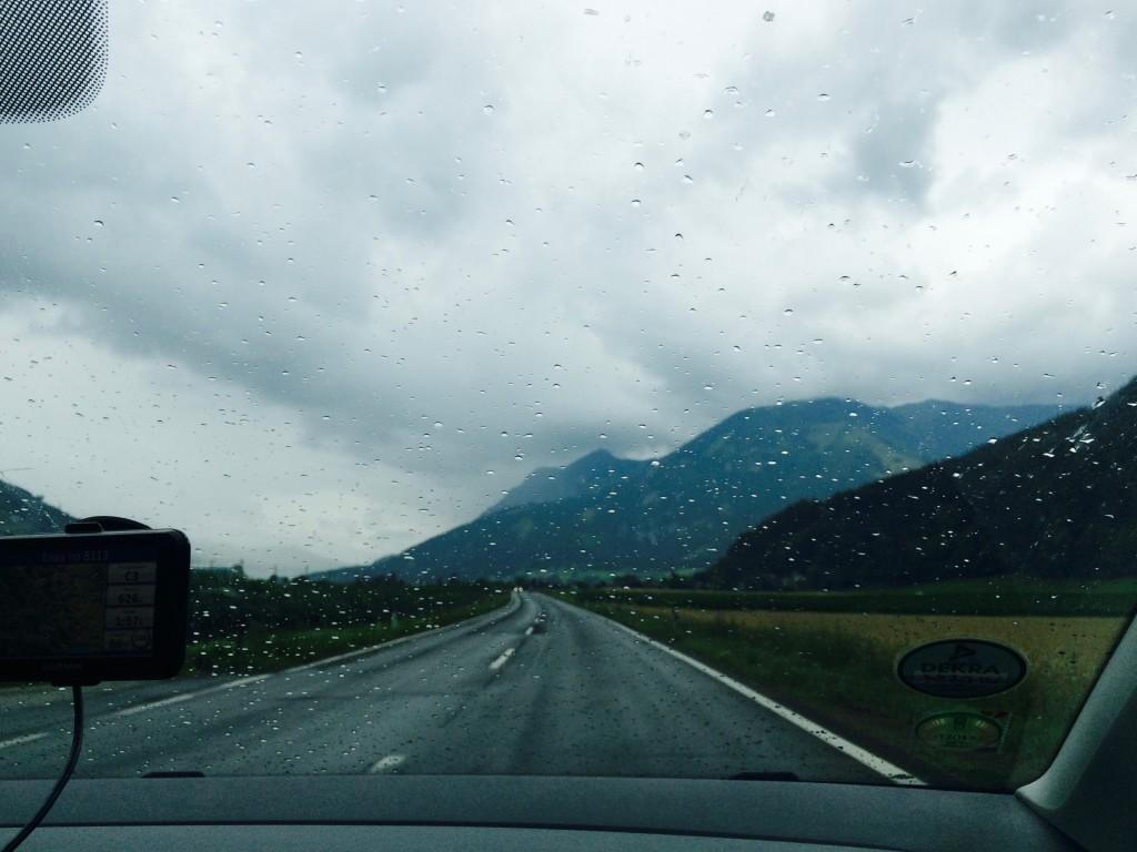 По дороге в Хальштат | Road to the Hallstatt