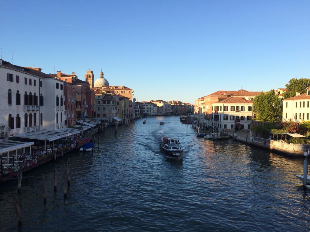 S-образный главный канал Венеции