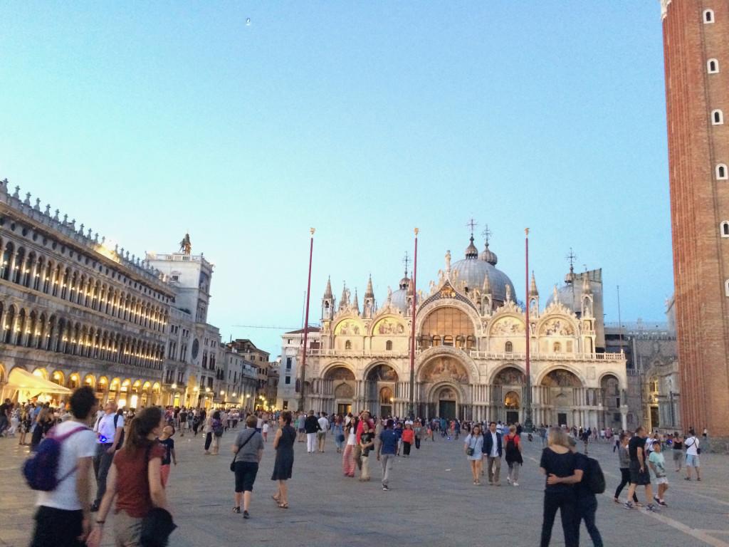 Центральная площадь Венеции