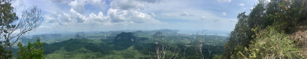 Панорама с вершины Языка Тролля